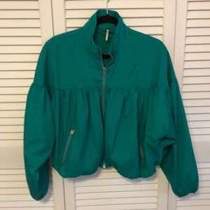 Free People Jackets & Coats - Free People Blouson jacket. Great condition.